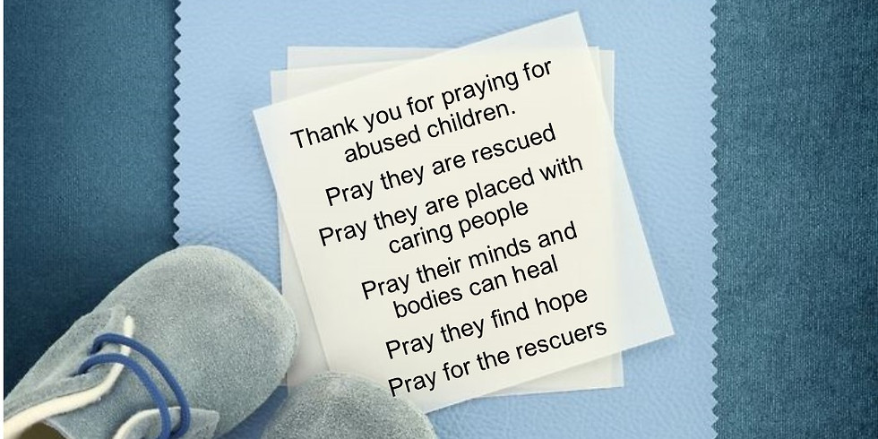 National Blue Sunday Day of Prayer for Abused Children