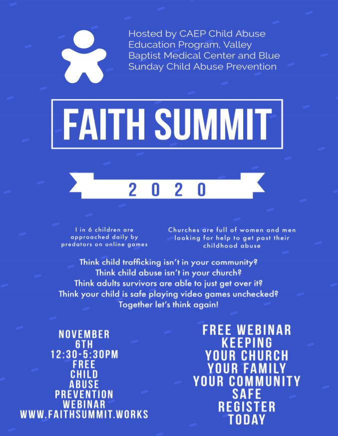 page 1 of Faith Summit news.JPG