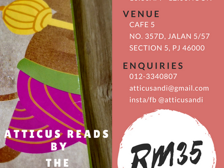Atticus Reads: Storytelling Amma is Back!