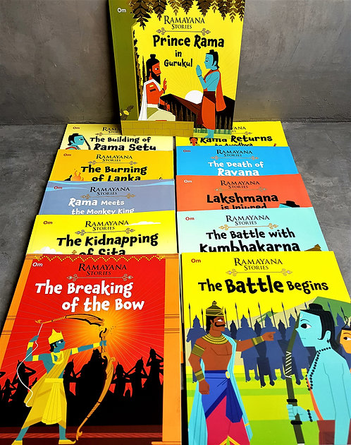 Ramayana Stories (11 Volume Set)
