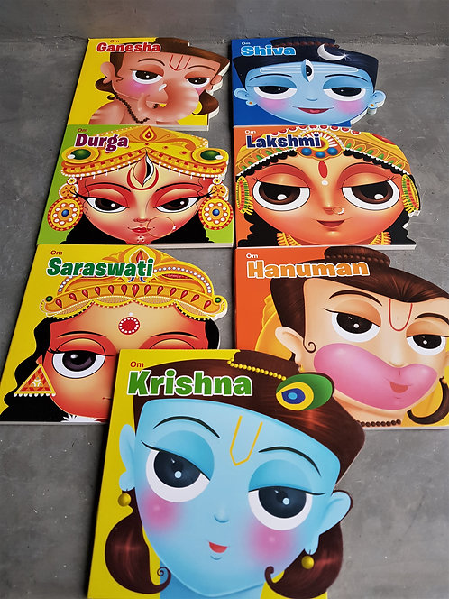 Hindu Deities Set (Board Books)