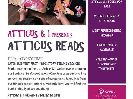 Atticus & I Presents: ATTICUS READS