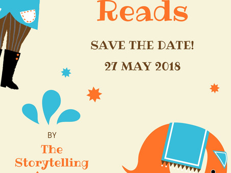 Atticus Reads: Save the Date