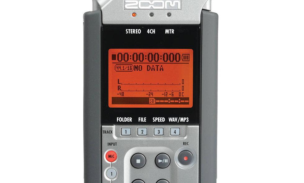 Zoom H4N Handy 4-Track Digital Audio Recorder
