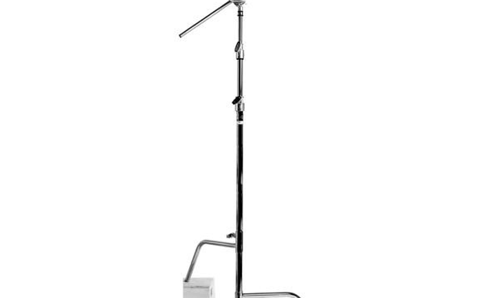 "40"" C-Stand with Gobo Head and Gobo Arm"