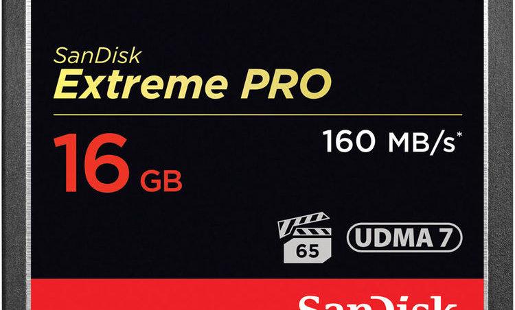 Sandisk 16GB Extreme/Extreme Pro CF Card