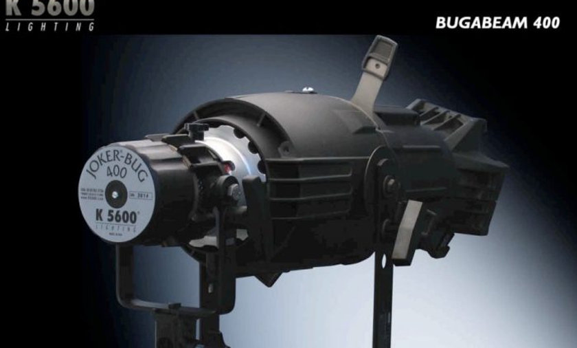 Joker 400 with Bug-A Beam Adapter and Source 4 - Joleko 400