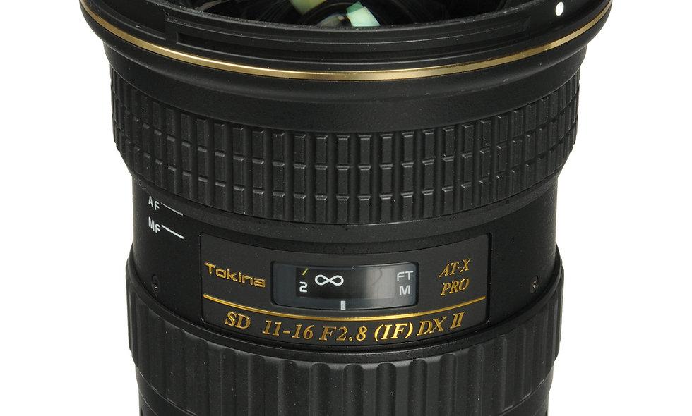 Tokina 11-16mm f/2.8 Lens - EF Mount