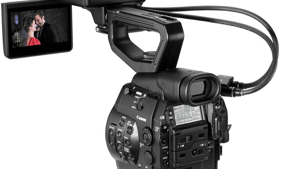 Canon C300 - PL Lens Mount