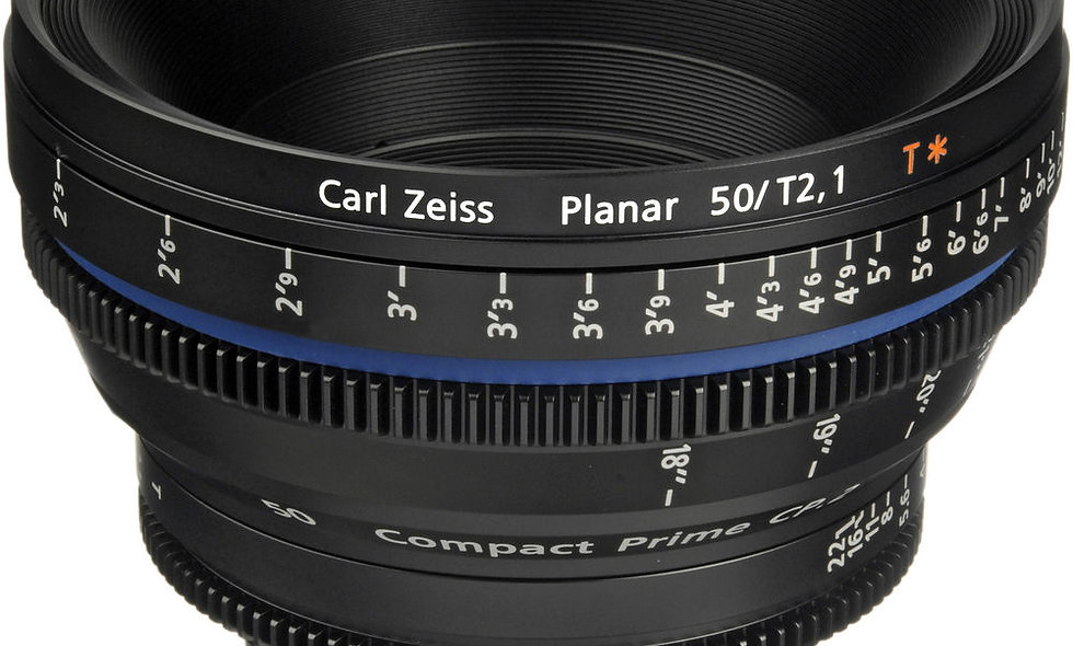 Zeiss Compact Prime CP.2 50mm/T2.1 Cine Lens - F Mount