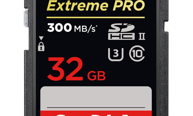 Sandisk 32GB Extreme/Extreme Pro Class 10 SD