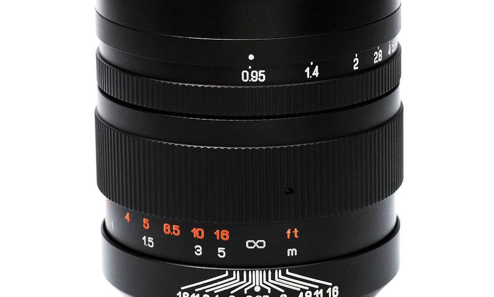 Mitakon Speedmaster 50mm f/0.95 Lens - E Mount