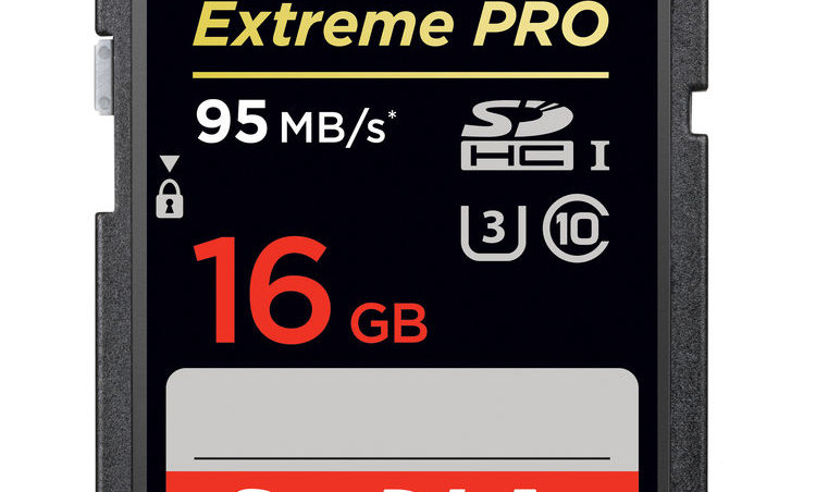 Sandisk 16GB Extreme/Extreme Pro Class 10 SD