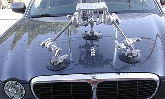 Hood Car Mount Kit with Ball Level Head - 50lb Capacity