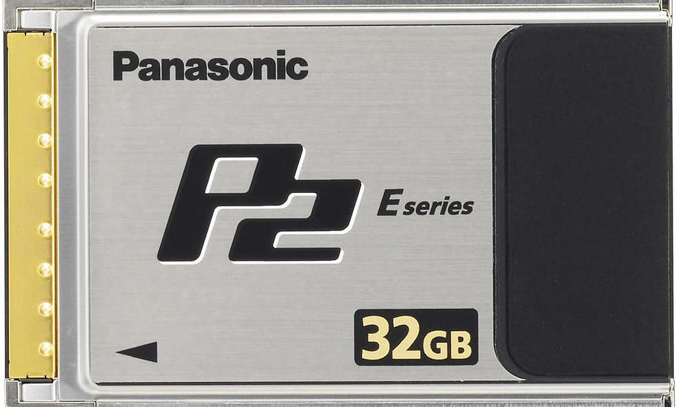Panasonic P2 Card - 32GB