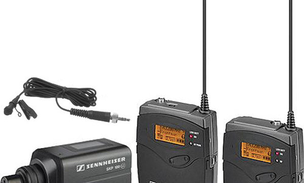 Sennheiser ew 100 ENG G3 Wireless Lav / Plug-In System