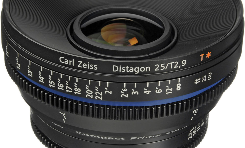 Zeiss Compact Prime CP.2 25mm/T2.9 Cine Lens - EF Mount