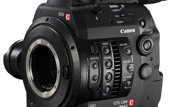 Canon C300 Mark II - EF Lens Mount