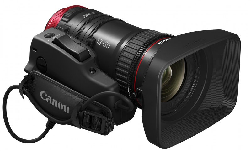 Canon CN-E 18-80mm T4.4 Compact-Servo Cinema Zoom Lens - EF Mount