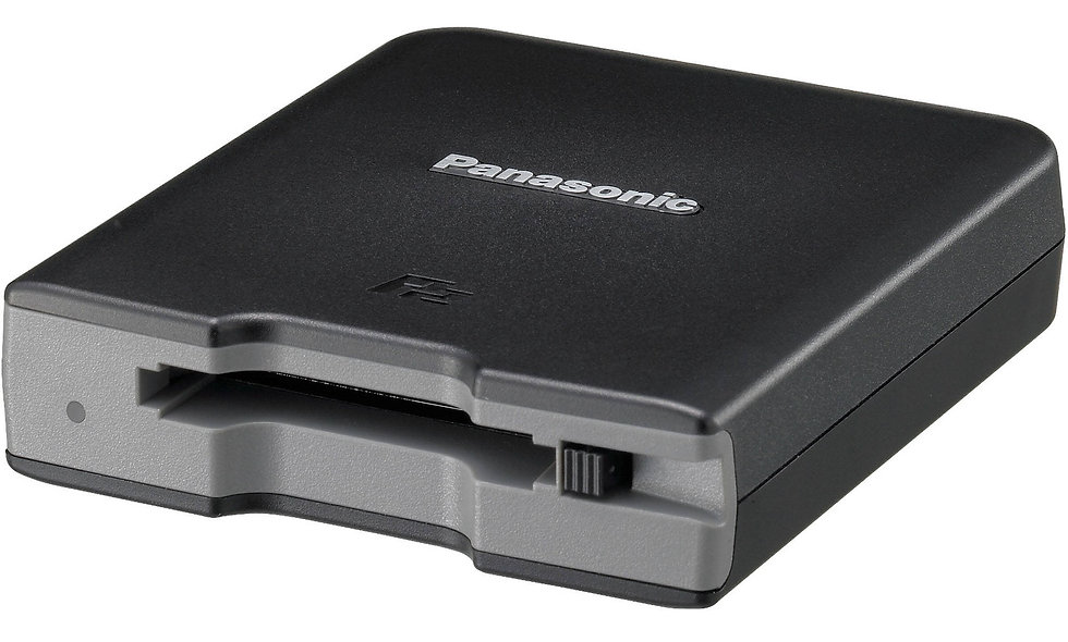 Panasonic AJ-PCD2GPJ P2 Single Card Reader