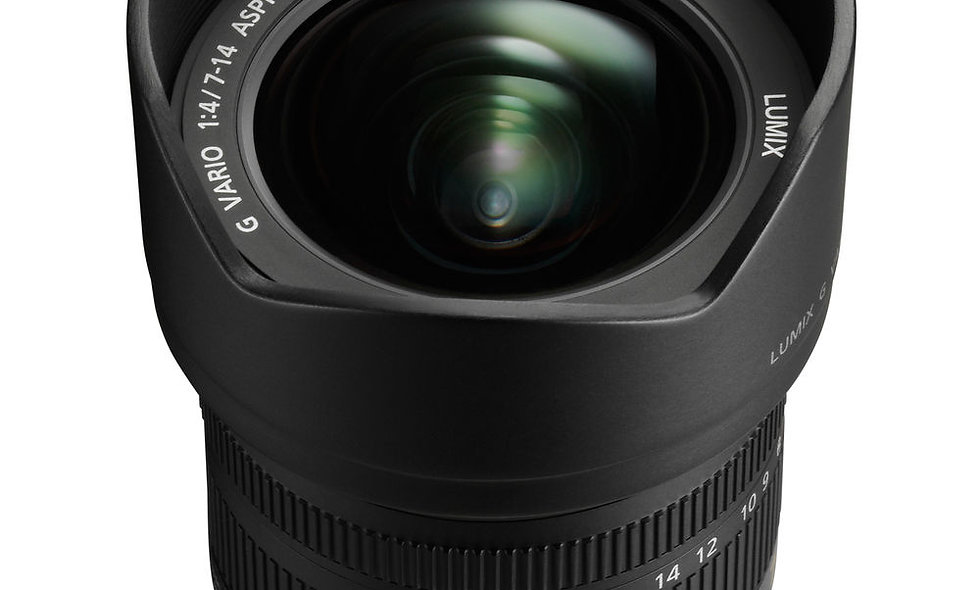 Panasonic Lumix G Vario 7-14mm f/4 - MFT Mount