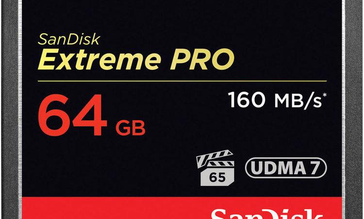 Sandisk 64GB Extreme/Extreme Pro CF Card