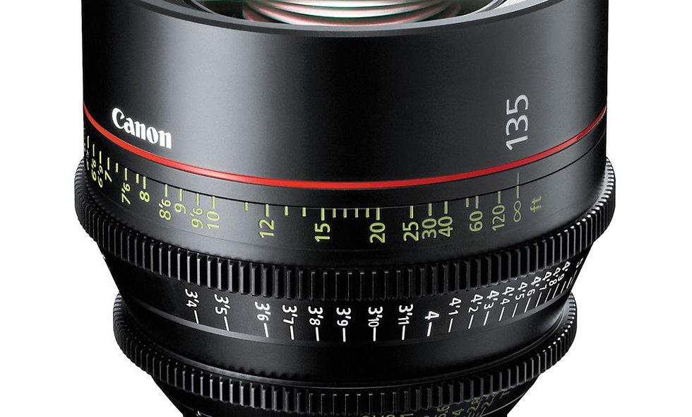 Canon CN-E 135mm T2.2 L F Cinema Prime Lens - EF Mount