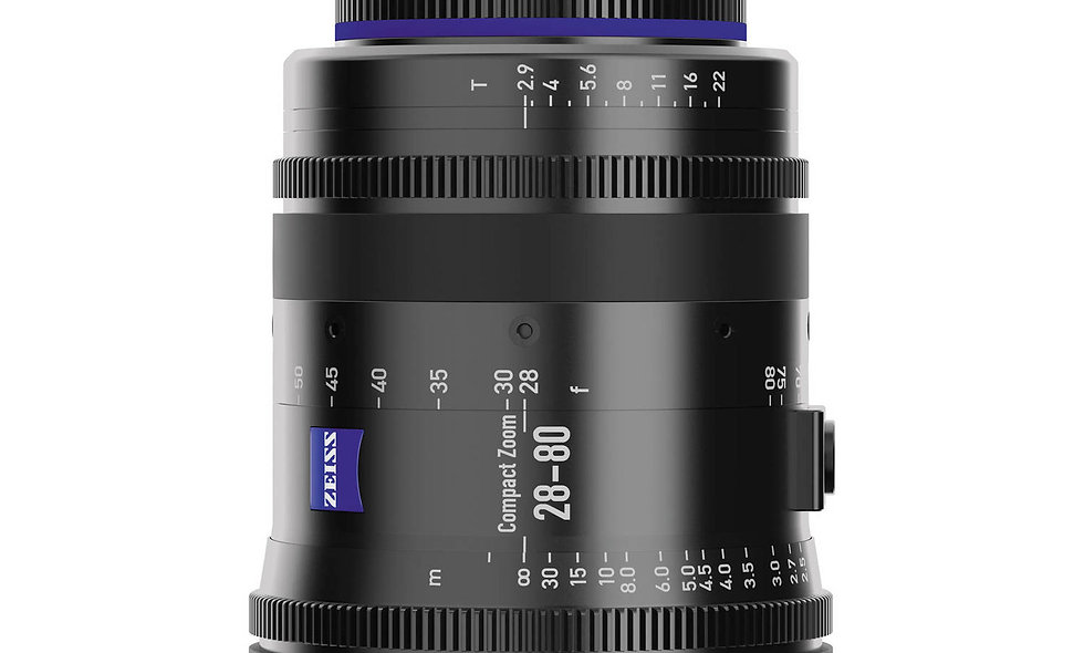 Zeiss 28-80mm T2.9 Compact Zoom CZ.2 Lens - EF Mount