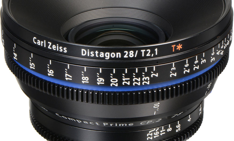 Zeiss Compact Prime CP.2 28mm/T2.1 Cine Lens - EF Mount