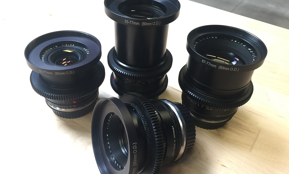 Leica-R 135mm f/2.8 EF Prime Lens