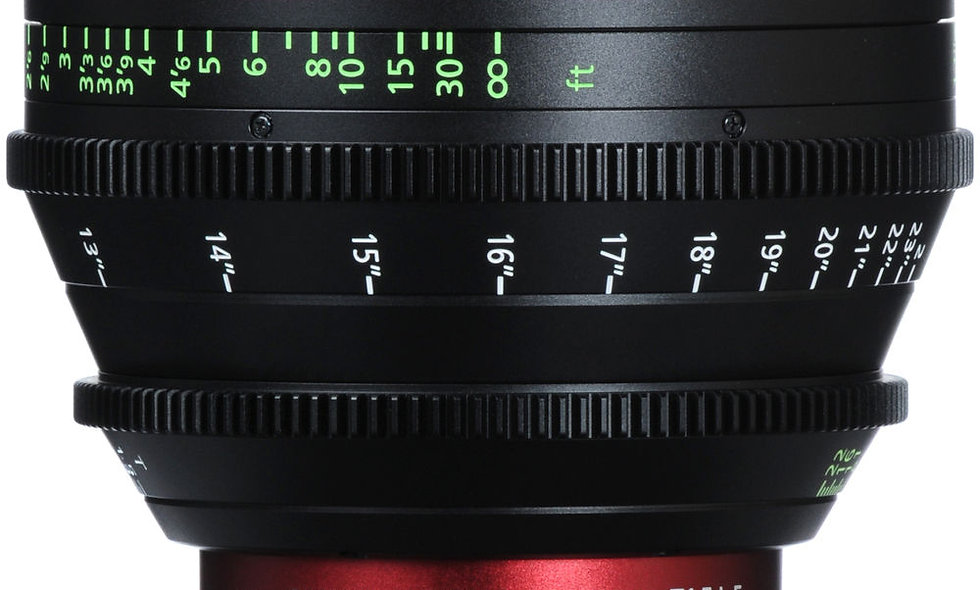 Canon CN-E 35mm T1.5 L F Cinema Prime Lens - EF Mount
