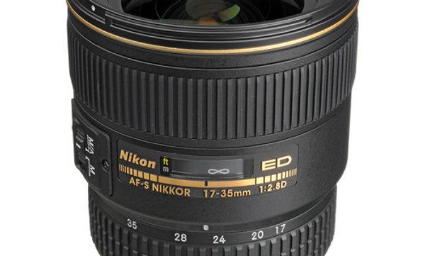 Nikon AF-S Zoom-NIKKOR 17-35mm f/2.8D Zoom Lens