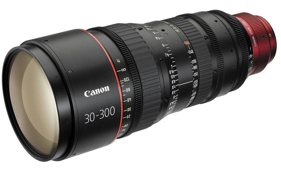 Canon CN-E 30-300mm T2.95-3.7 L S Cinema Zoom Lens -EF Mount