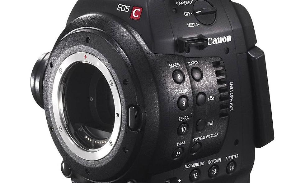 Canon C100 - EF Lens Mount