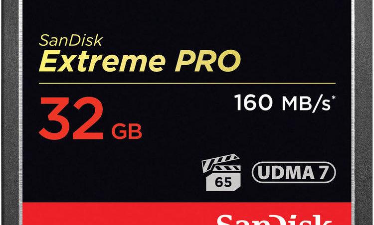 Sandisk 32GB Extreme/Extreme Pro CF Card