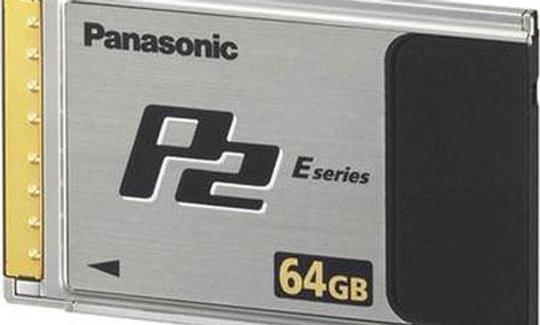 Panasonic P2 Card - 64GB