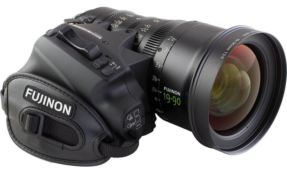 Fujinon 19-90mm T2.9 Cabrio Premier Lens - PL Lens Mount