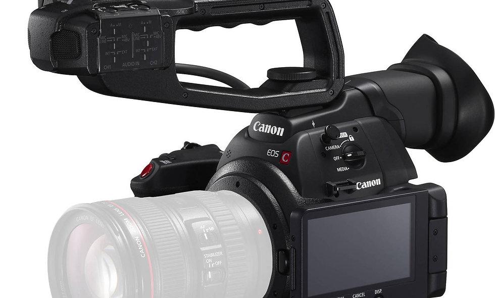 Canon C100 Mark II - EF Lens Mount