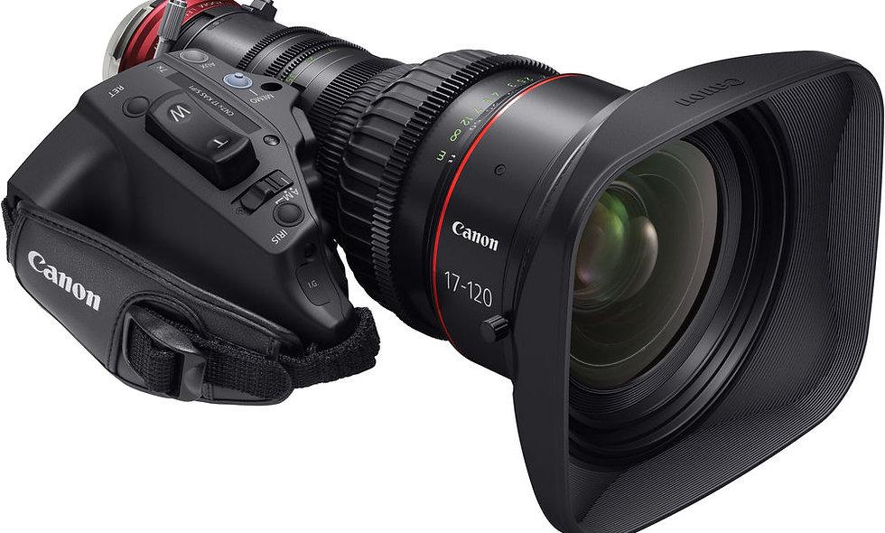 Canon CN7x17 KAS S Cine-Servo 17-120mm T2.95 - PL Mount