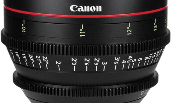 Canon CN-E 24mm T1.5 L F Cinema Prime Lens - EF Mount