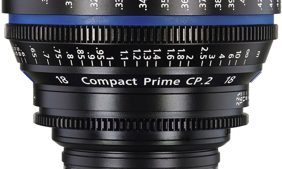 Zeiss 18mm/T3.6 CP.2 Compact Prime Cine Lens - EF Mount