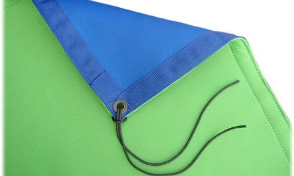 6' x 6' Chroma Blue / Green Reversible