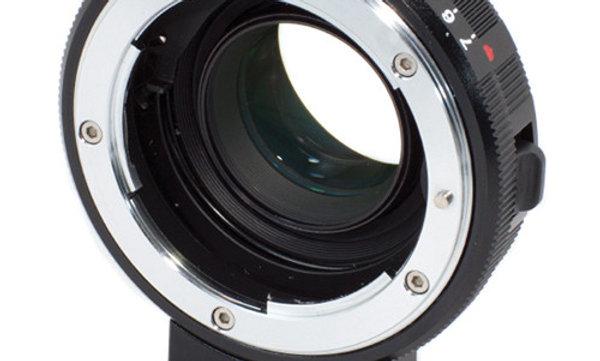 Metabones Speed Booster Nikon G Lens to BMCC