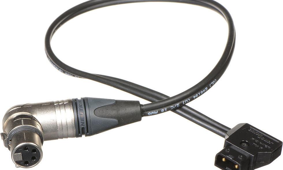 P-Tap to 4-Pin XLR Female