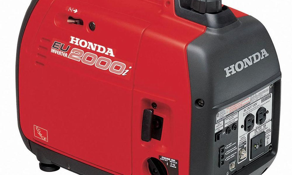 Honda 2000w Generator - 16amps