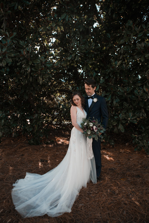 Athens, GA Wedding. Couple Portraits.