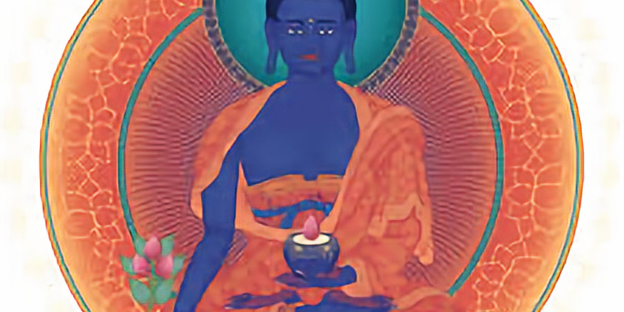 Medicine Buddha and the Heart Sutra