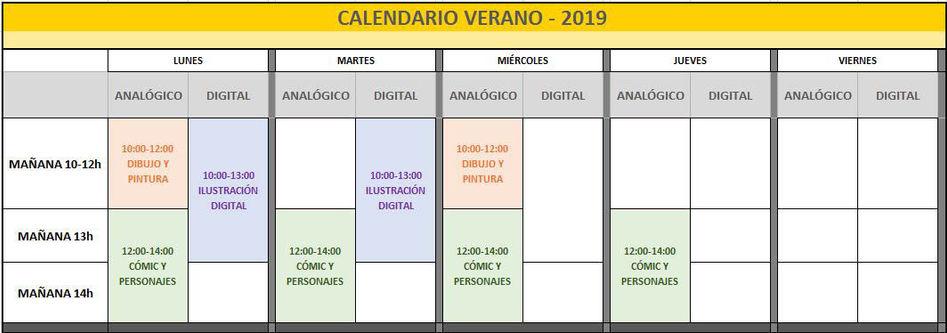 calendario horarios verano 2019.JPG