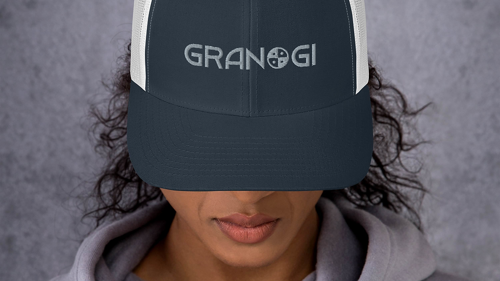 Granogi with Logo Trucker Cap