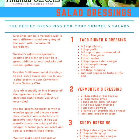 Our favorite salad dressings